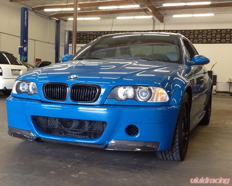 Status Gruppe Csl Style Front Bumper Standard Version With Intake Grill 1x1 Splitters Bmw E46 M3 01 06