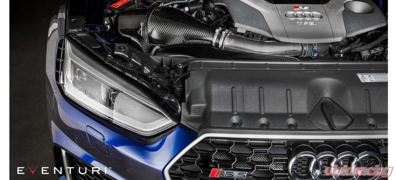Eventuri Black Carbon Intake System With Secondary Duct Audi B9 RS5 | RS4  17-20