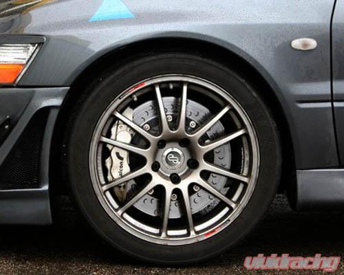 Alcon Advantage Extreme 330x25mm Brake Kit Rear P-Type Mitsubishi Evolution  VIII IX 03-07