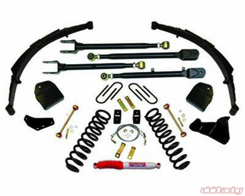 Skyjacker 4 Inch Lift Kit Ford F 250 Super Duty Turbo Diesel 4wd 08 10