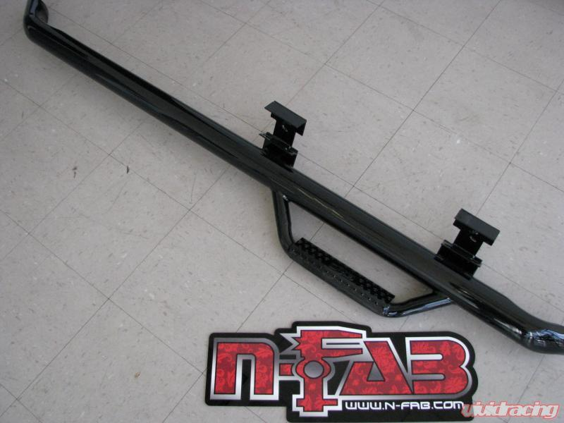 "For 99-16 FORD F250 REG Cab 3/"" Running Board Side Step Nerf Bar Black BD"