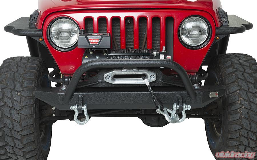 Bumper for Jeep Wrangler 97-06 Front Bumper Black