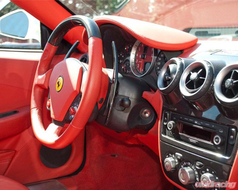 Carbonio Carbon Fiber Challenge Shift Paddles Ferrari F430 04 09 Fer 430pad L