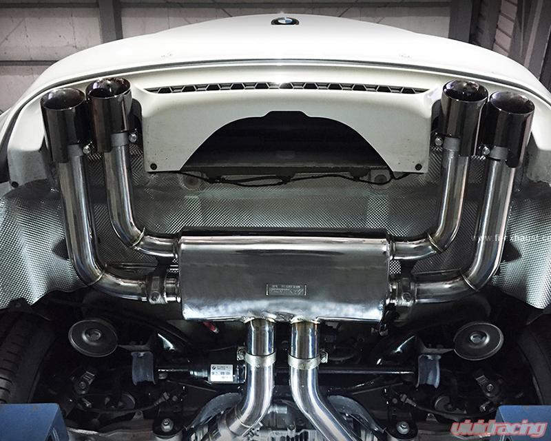 FI-BMW-F86-X5M|X6M | FI Exhaust Catback Valvetronic Muffler with