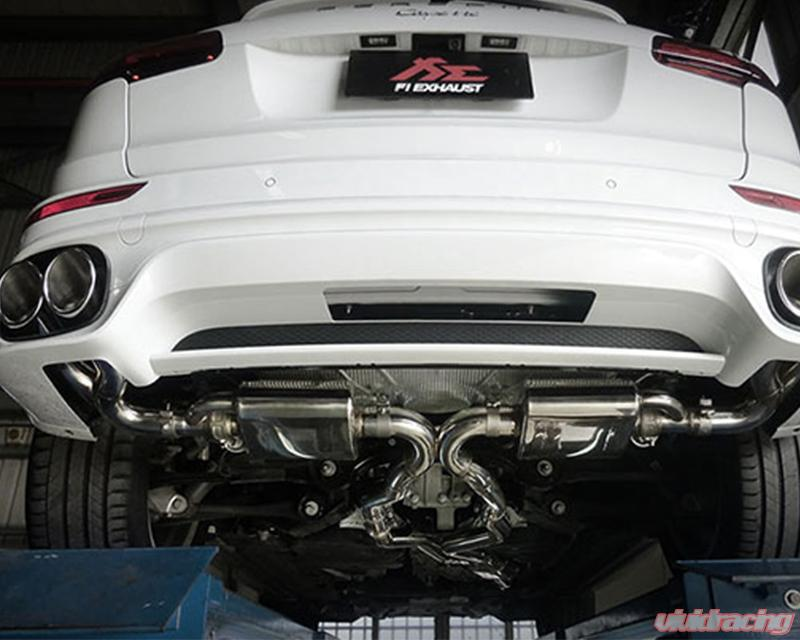 Fi Exhaust Mid X Pipe Valvetronic Muffler Quad Tips Porsche 958 1 Cayenne Turbo 4 8t 11 17
