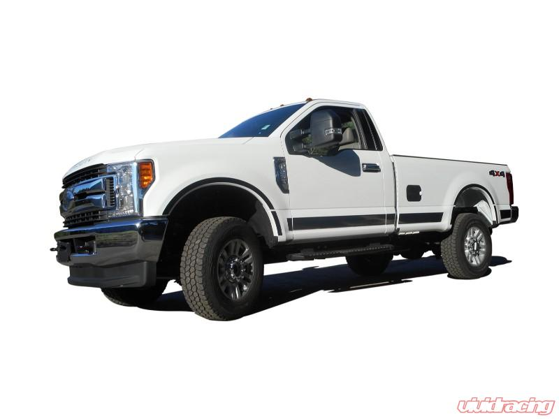 QAA fits 2017-2020 Ford F-250 /& F-350 Super Duty GC57320 1 Piece Stainless Gas Door Cover Trim