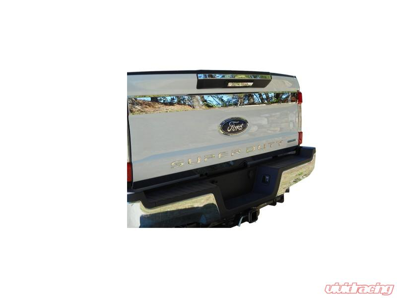 SGR57320 FORD F250 /& F350 SUPERDUTY 2017 Stainless Steel Tailgate Letters