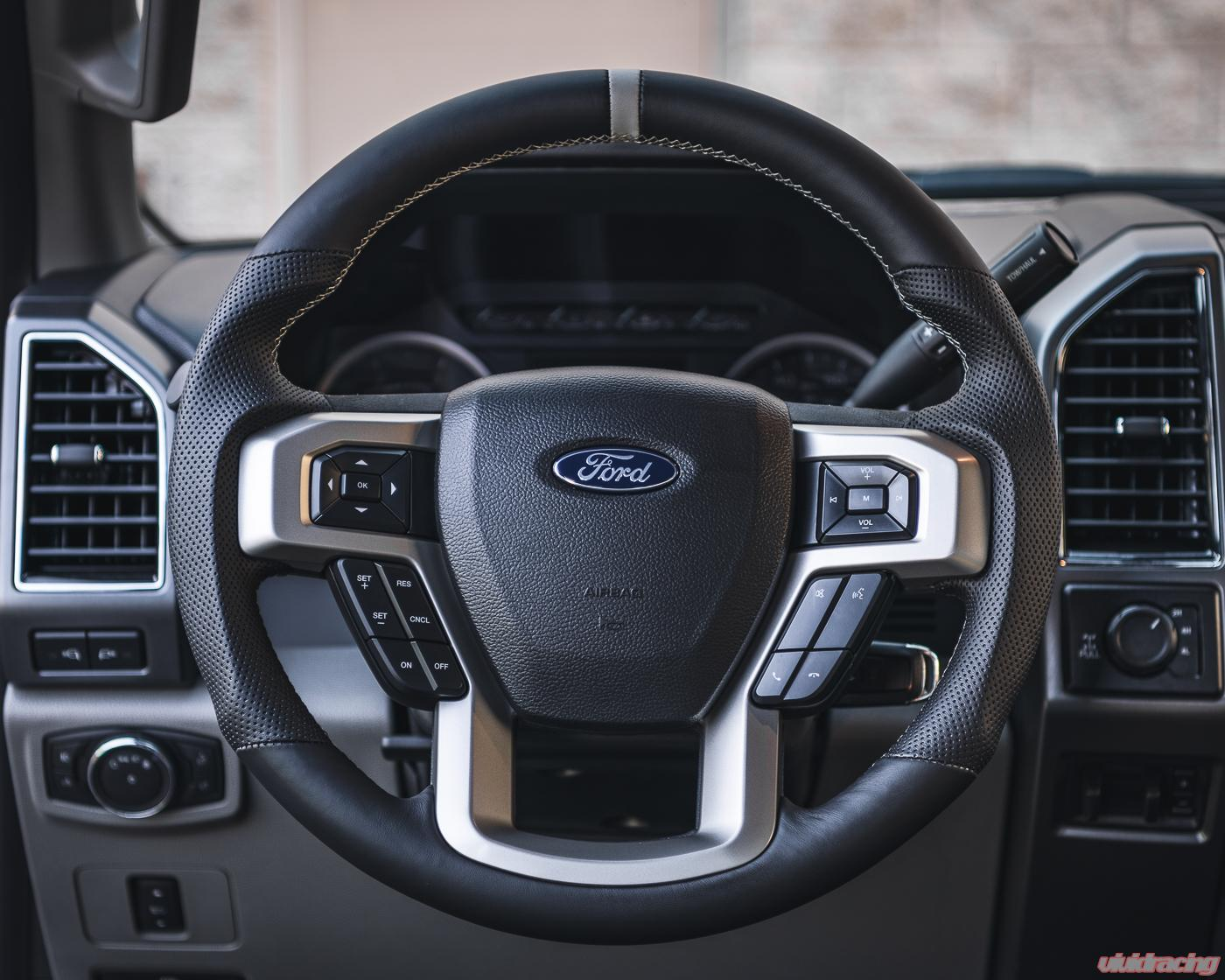 Ford F 150 F 250 F 350 Oem Upgraded Customized Steering Wheel