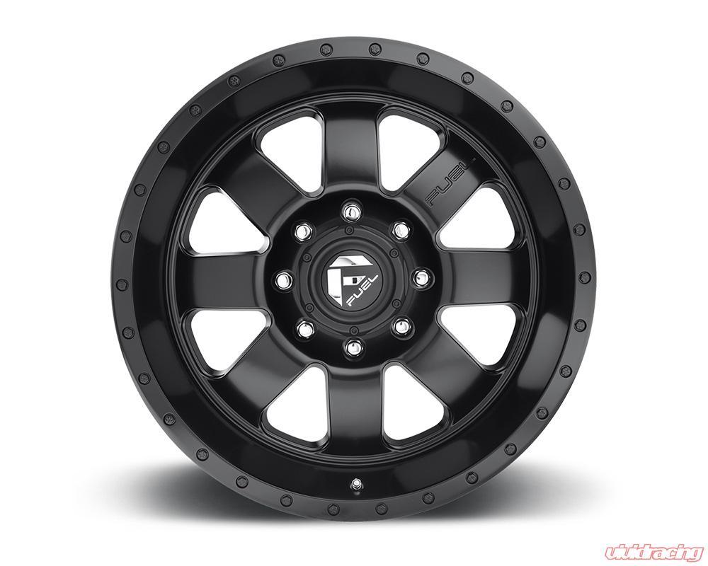 Fuel Wheels 20x9 >> Fuel D626 Baja Matte Black 1 Piece Cast Wheel 20x9 6x135 20mm