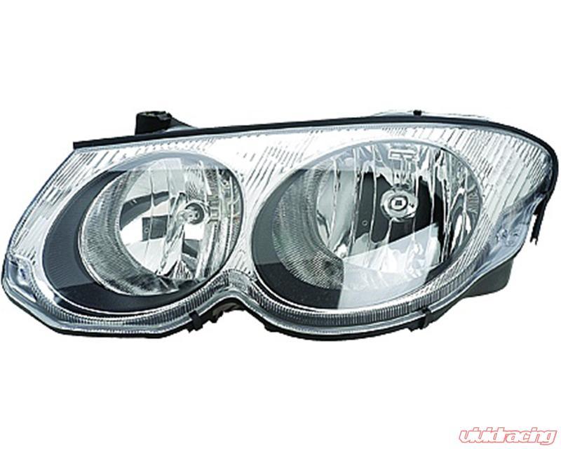 Spyder Auto Crystal Headlights Black Chrysler 300m Non Hid 99 04 Hd Jh