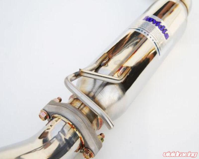 HS12HC2GTT Invidia N1 Cat-Back Exhaust System with Titanium Tip for Honda Civic Si Coupe