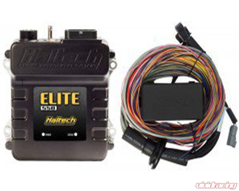 Haltech Elite 550 Stand Alone ECU with 8ft  Basic Universal Wire-In Harness  Kit