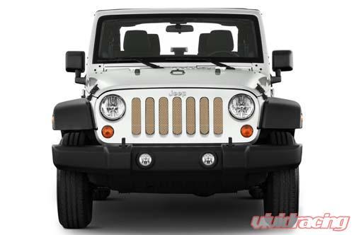 Jeep Wrangler Grill >> Jeep Wrangler Grill Inserts 07 18 Jk Sahara Tan Under The Sun Inserts