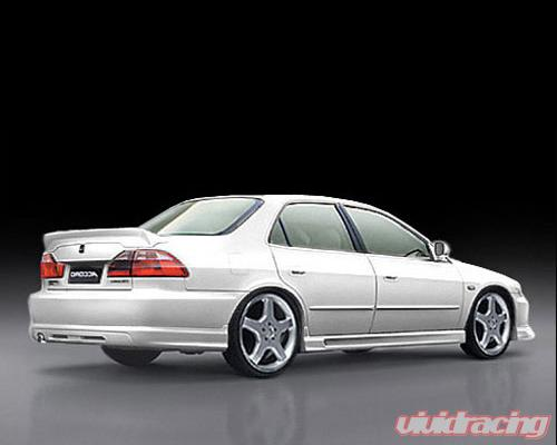 Jp Rear Trunk Spoiler Honda Accord 4dr 98 02 Acd Rs