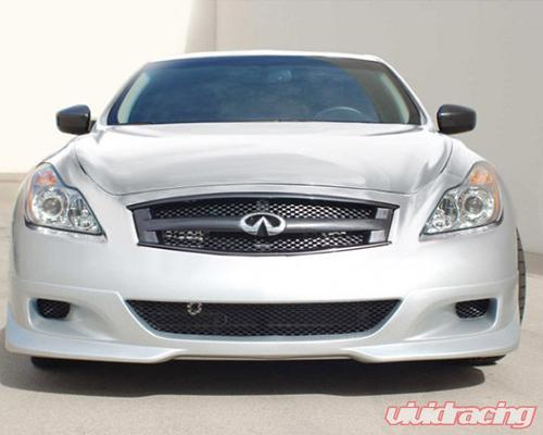 Stillen Grille Embly With Semi Gloss Black Sd Mesh Infiniti G37 Coupe 08
