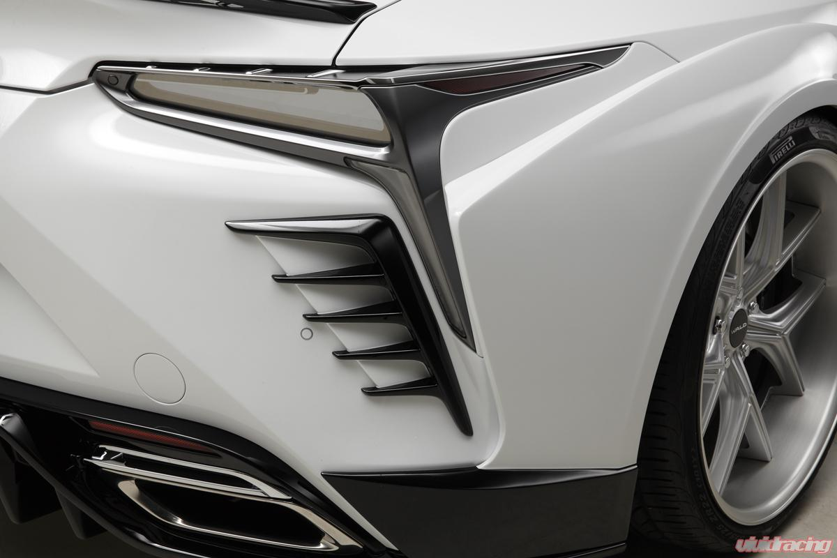 Lc500 Rd 17 Wald International Rear Duct Cover Lexus Lc500 Lc500h