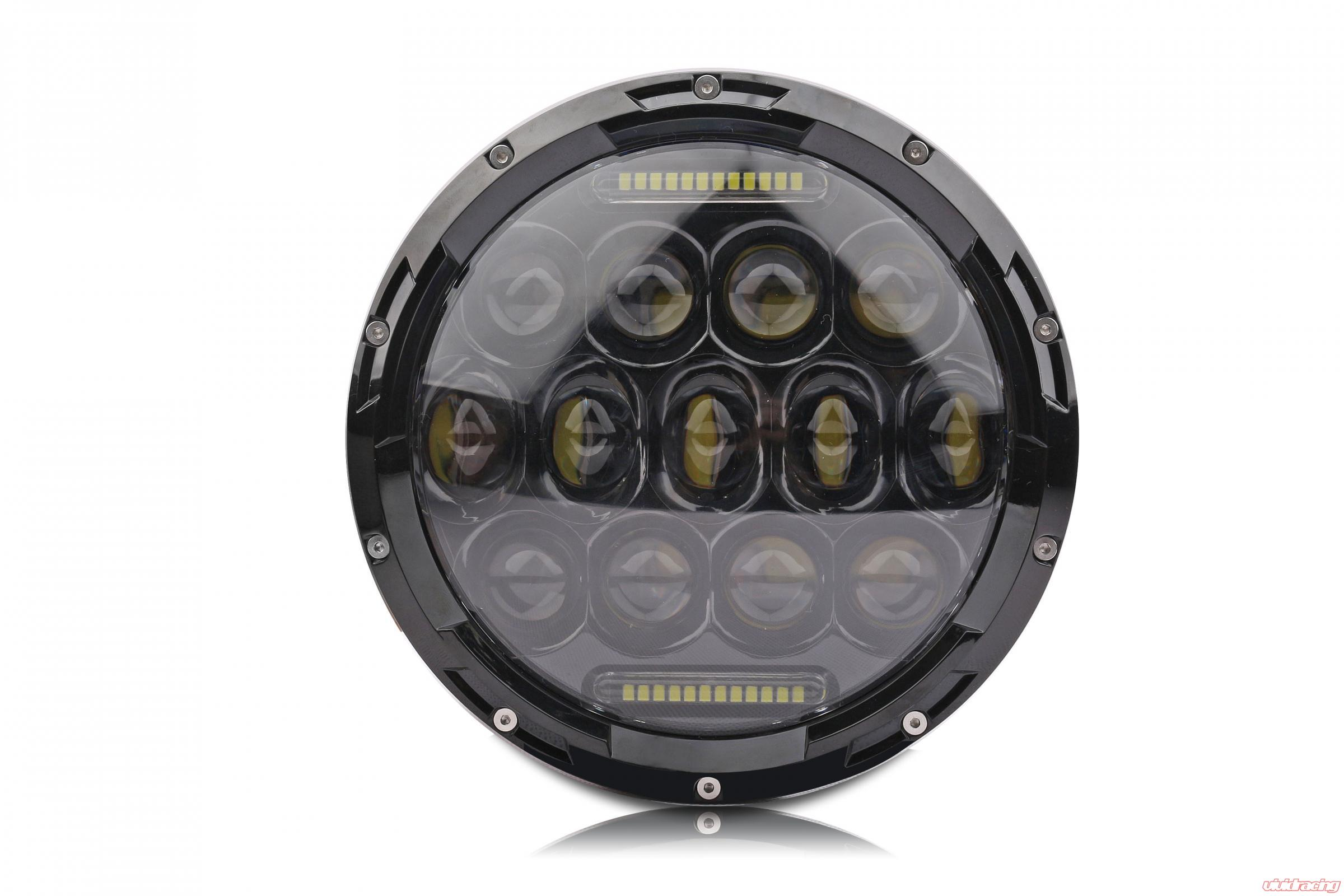 halo led lj for inch light switchback round cree white headlight rings product jk tj wrangler amber jeep lights store