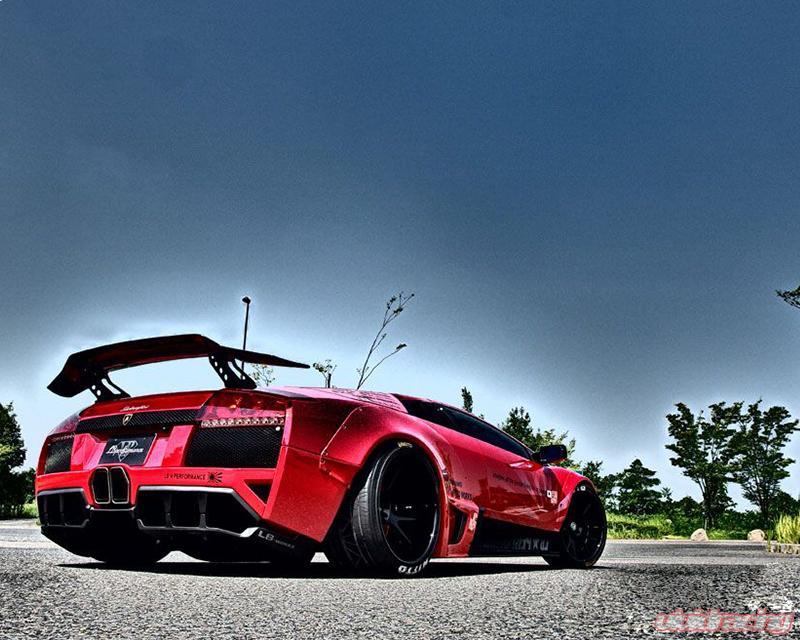 Liberty Walk Performance Rear Wing Version Iii Lamborghini