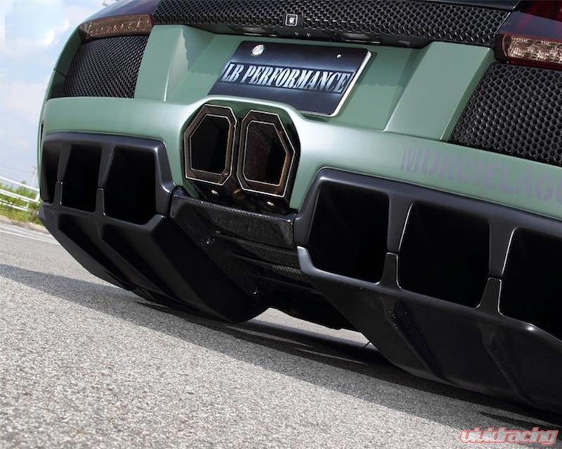 Liberty Walk Performance Muffler Cutter Lamborghini Murcielago 02 10