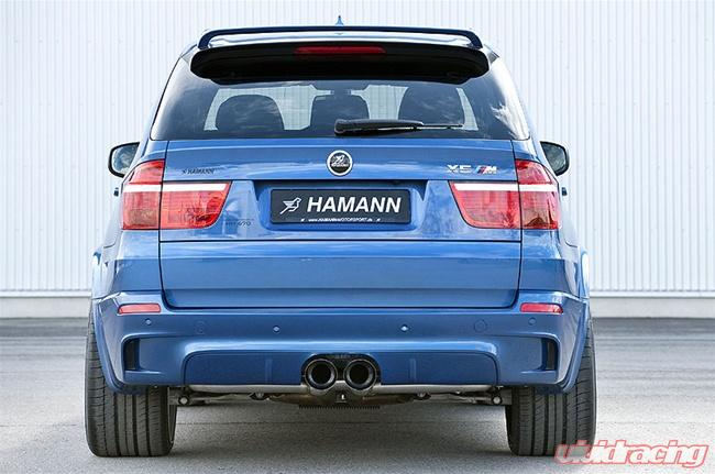 Hamann Sport Rear Muffler 2 Tailpipes Central BMW X5 M 10-12