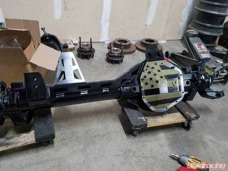Jeep JK 1 Ton Swap Truss Kit Super Duty Dana 60 Motobilt