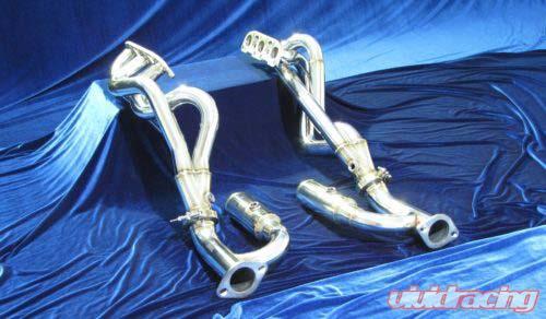 Motordyne Long Tube Headers With Hemlholtz Resonator Infiniti G37 09-14