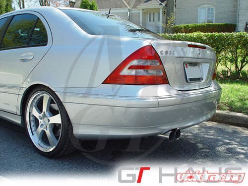 Meisterschaft Stainless GT Racing Exhaust 2x83mm Tips Mercedes-Benz C200 |  C230 Kompressor 01-07