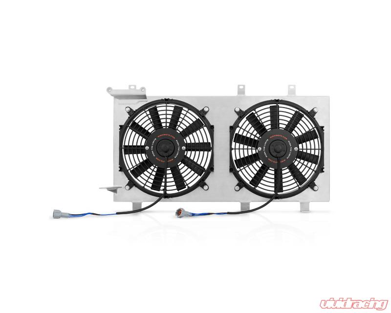 MISHIMOTO Radiator Fan Shroud Kit Plug-N-Play for 08-14 Subaru Impreza WRX//STi