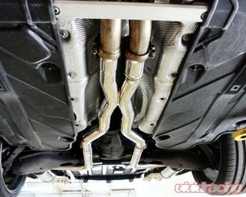 Megan Racing Axle Back Exhaust Mercedes-Benz C63 AMG 12-16