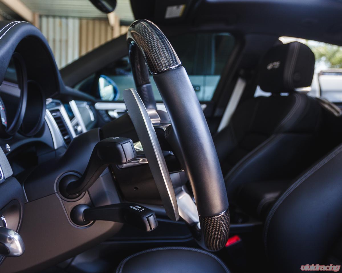 Agency Power Paddle Shifter Extensions Porsche PDK Gen 2 Red