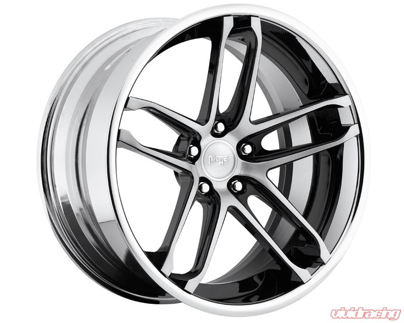 Niche Wheels 3 Piece Series A230 Monaco 18 Inch Wheel 3pcmonaco18