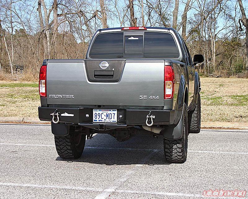 ShrockWorks Rear Bumper Nissan Frontier 05 17   NFTR3 RBPR 01A   Image