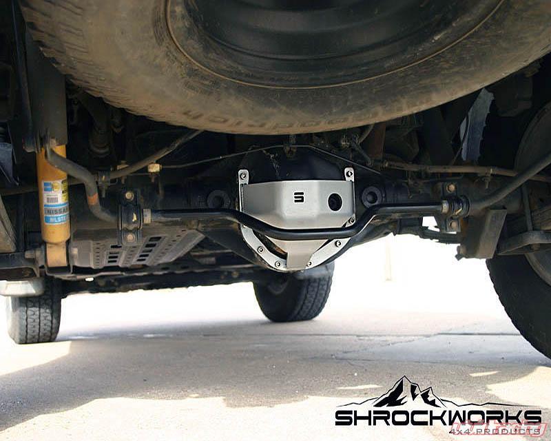 ShrockWorks Differential Cover Nissan Frontier   Xterra 05-14