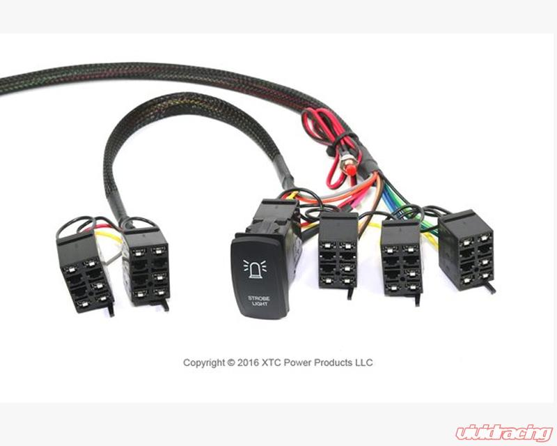 Awesome Pcs 72S Ns Xtc Motorsports Power Control System With Strobe Plug Wiring Digital Resources Counpmognl
