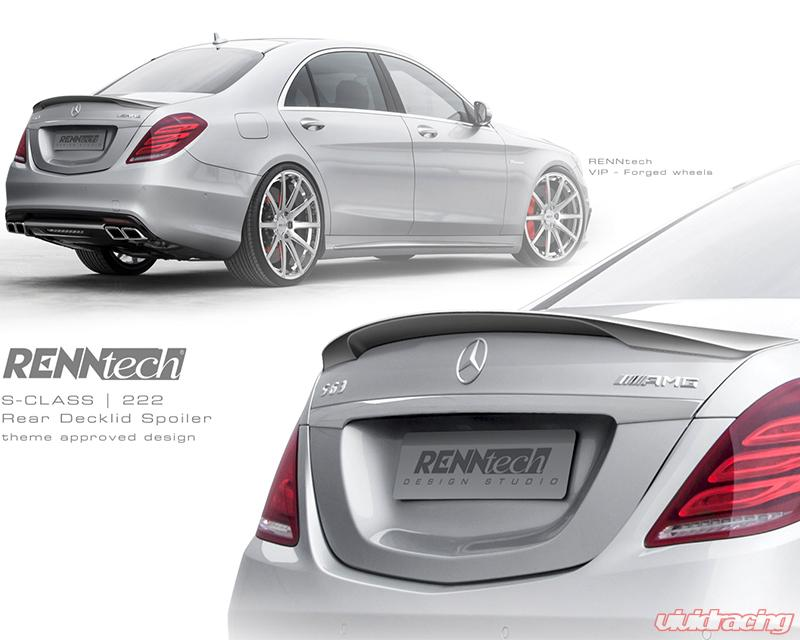 RennTech Sound and Style Package Mercedes-Benz S63 AMG 5 5L V8 BiTurbo W222  12-17