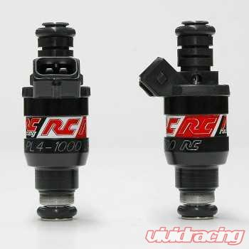 RC Engineering 95lb 1000cc Fuel Injector Set Porsche 996 TT 01-05