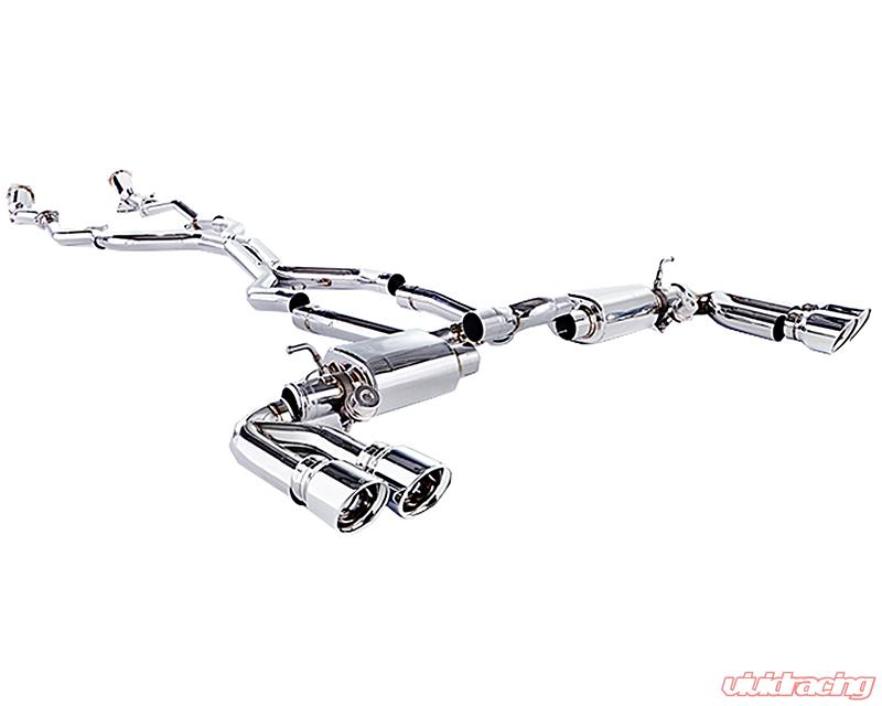 IPE Stainless Steel Valvetronic Exhaust System With Remote Porsche Cayenne 955 02 07