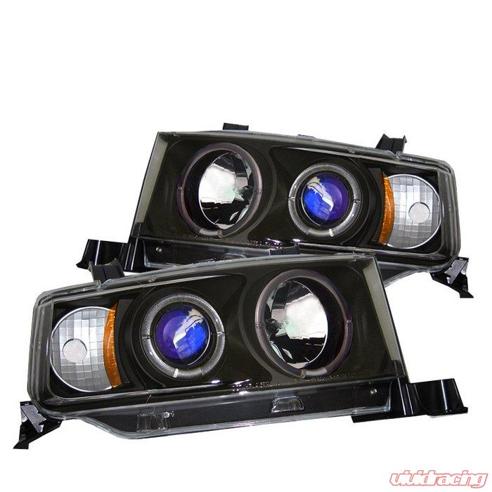 Spyder Halo Black Projector HeadLights Scion Xb 03-06