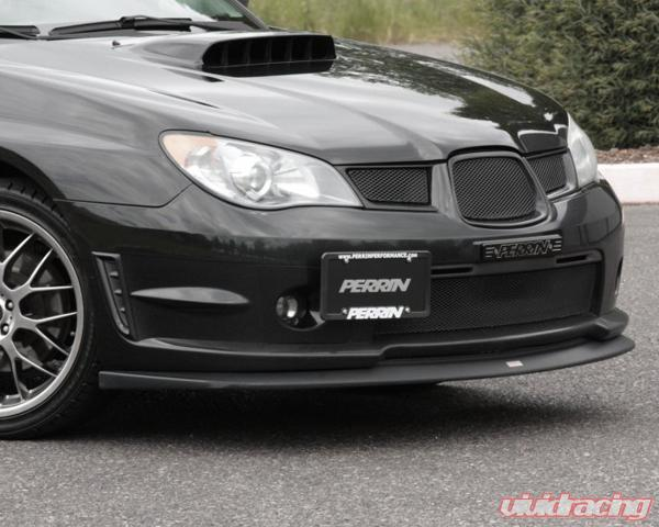 Perrin Performance License Plate Relocate Kit For 02-07 WRX//STI