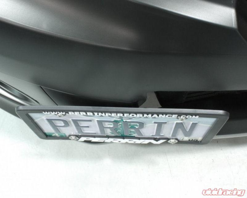 Perrin Performance License Plate Relocate Kit Subaru Crosstrek | Forester  14-18