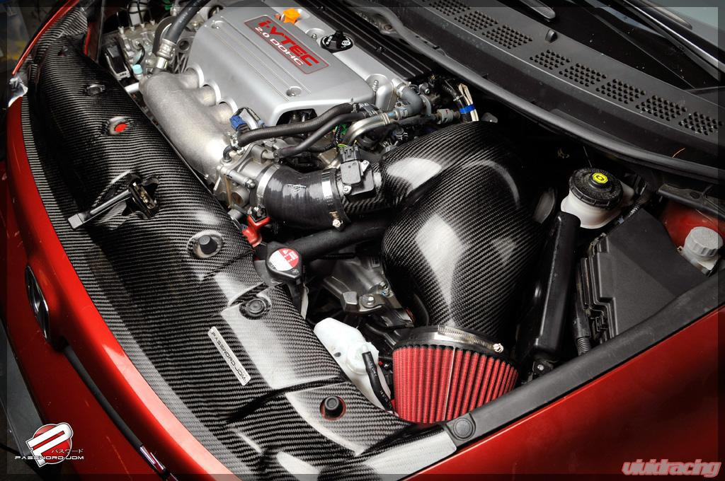Password Jdm Dry Carbon Fiber Powerchamber Intake Honda