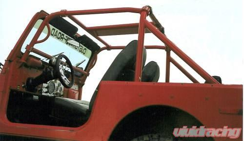 Rh 1007 Rockhard 4x4 Unpainted Bolt In Ultimate Sport Cage Jeep Cj7 76 78