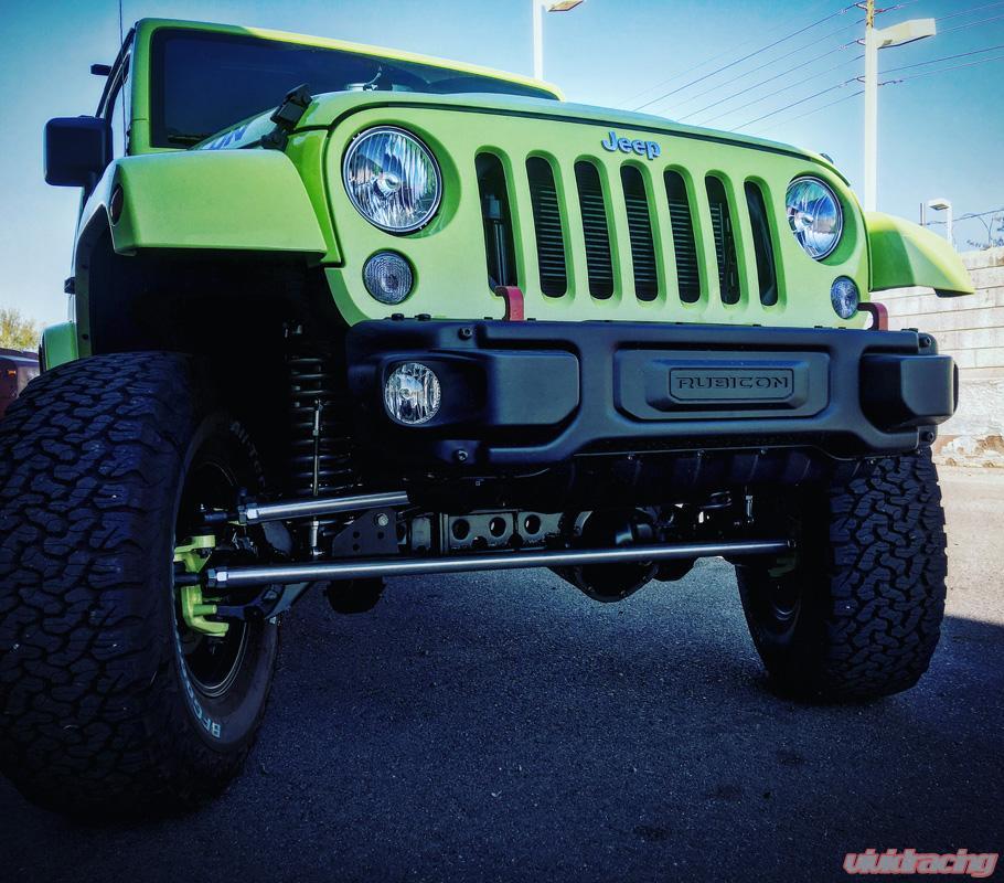 Jeep Wrangler JK Aluminum Tie Rod And Drag Link Steering Flip Kit RPMFab    RPMF