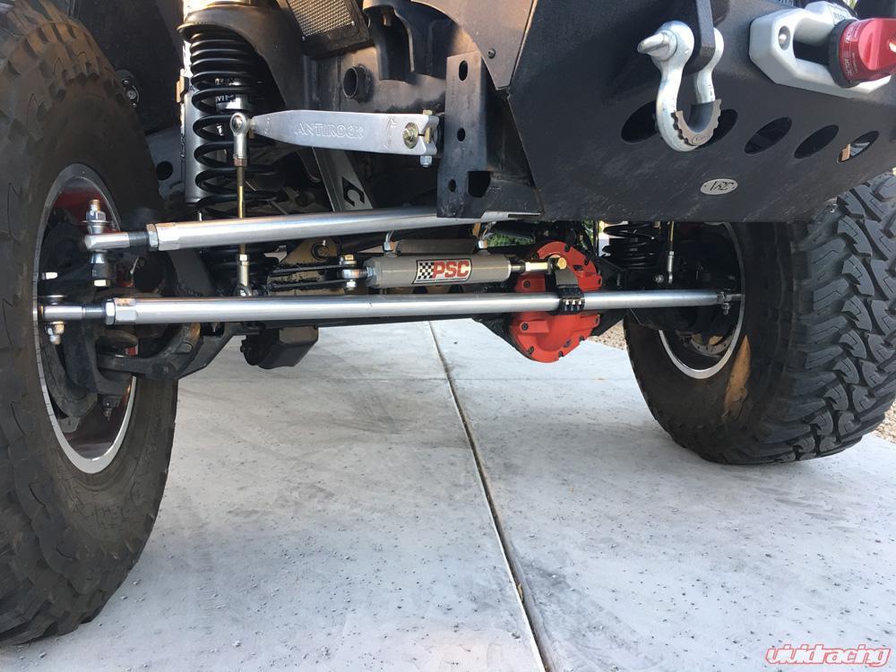 Jeep Wrangler JK Aluminum Tie Rod And Drag Link Heim Steering RPMFab    RPMF 1006JK