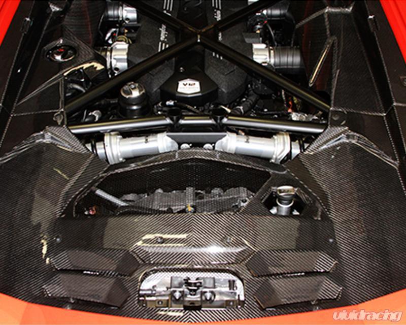 Rsclam2002 Rsc Tuning Cs700 Carbon Fiber 5 Piece Engine Bay Kit