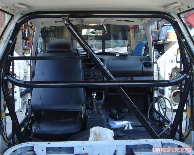 Autopower 4point Mount Race Roll Bar Honda Civic 96 00 Image3