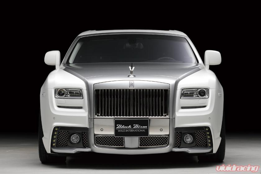 Wald USA Black Bison Edition Front Bumper Rolls Royce ...