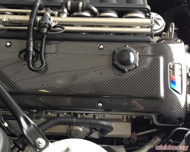 Status Gruppe Carbon Fiber Engine Cover 2x2 BMW Z4M S54 06-08