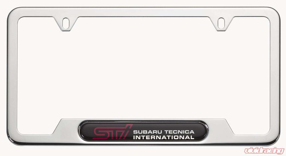SOA342L123 | Genuine Subaru Polished Stainless Steel License Plate ...