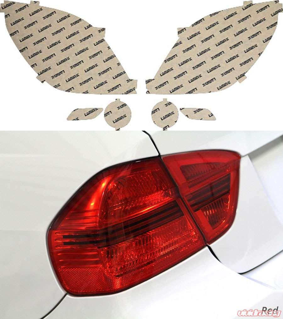 Saturn Vue 08 09 Red Tail Light Covers Lamin X St207r
